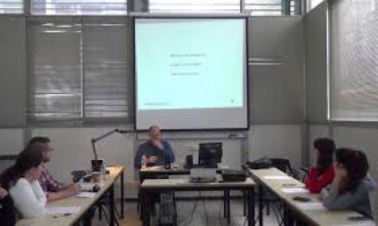 Lecture by Lars Elleström, Department of Cinema and Literature, Linnaeus University