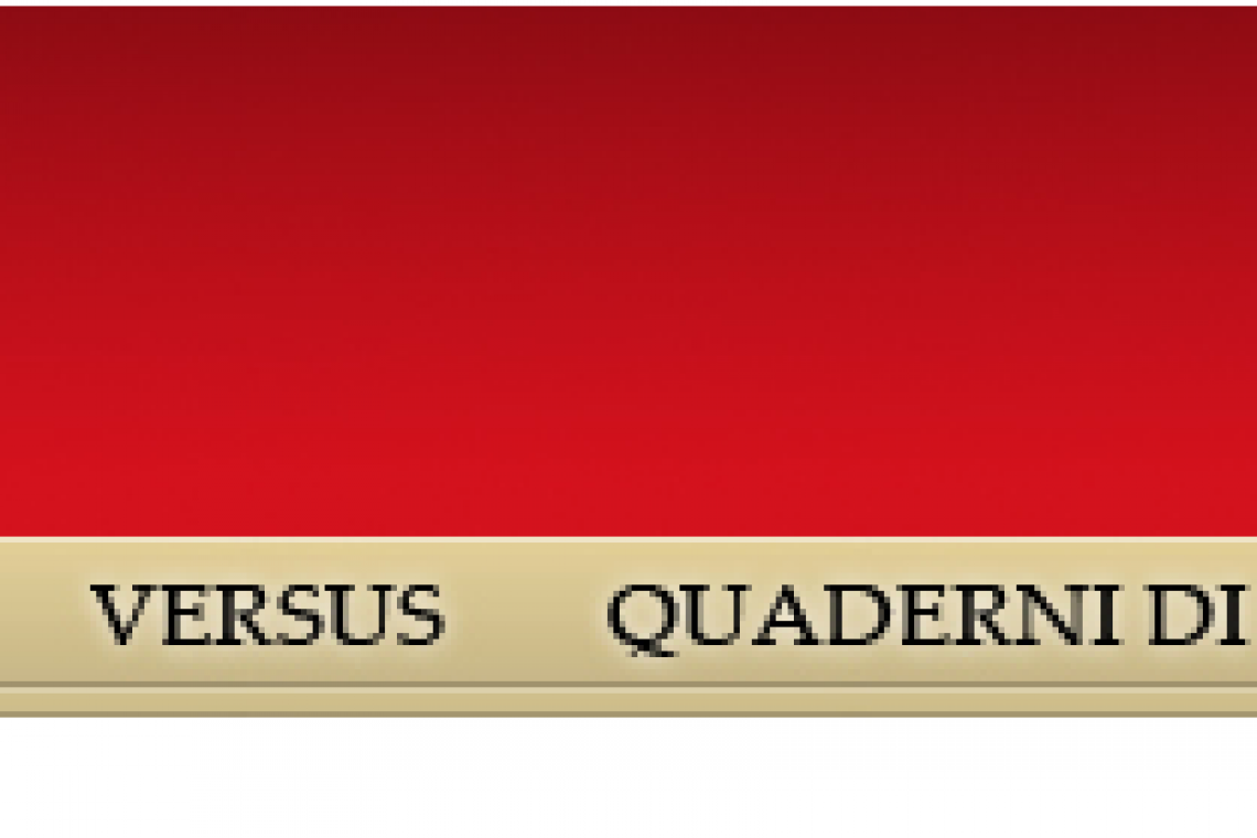 Versus. Quaderni di studi semiotici / Call for papers: Future. A time of history